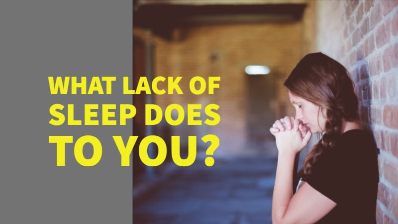 CBD for Lack Of Sleep. What Lack Of Sleep Does To You?